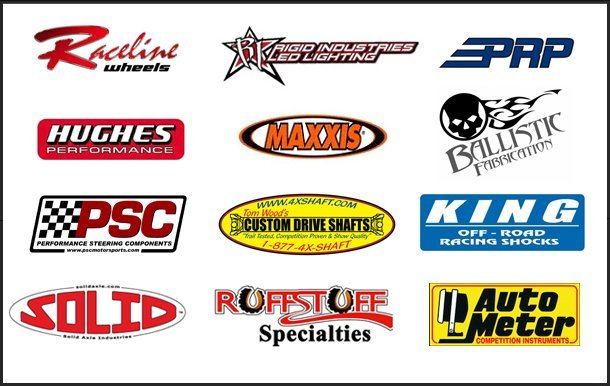 Trail Boss Off-Road Sponsors